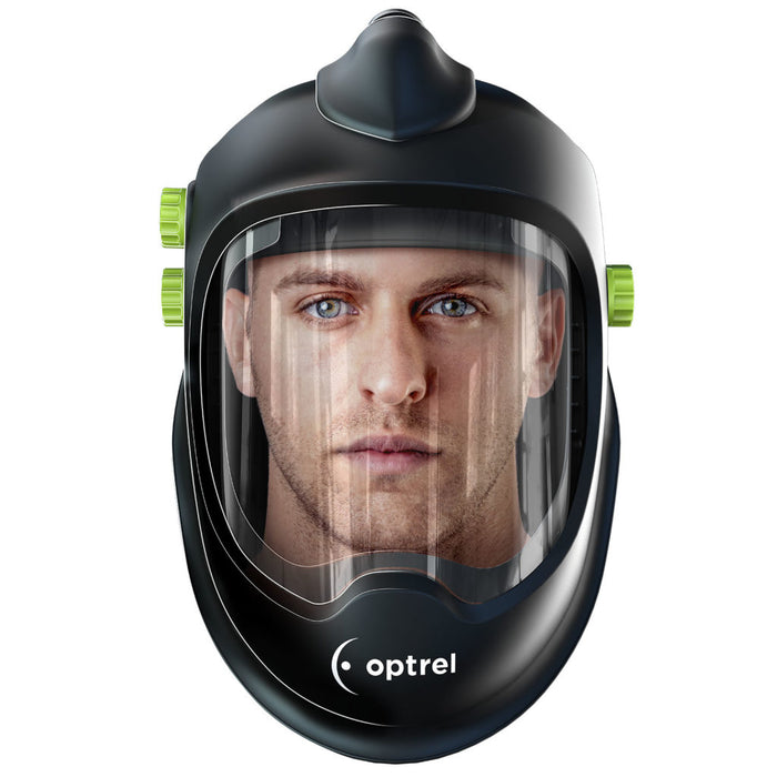 Optrel Clearmaxx PAPR Face Shield with comfortable fit