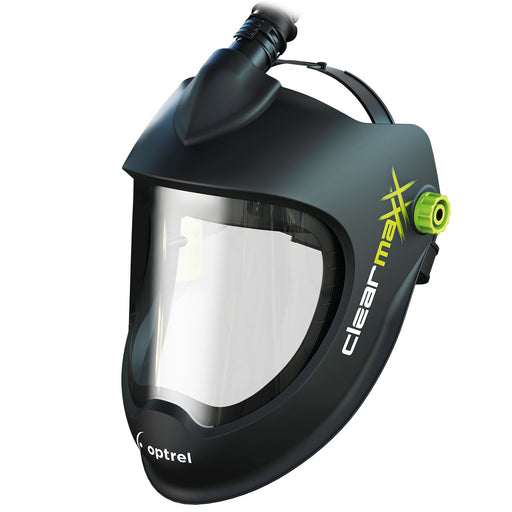 Clearmaxx PAPR with Faceshield to protect against sparks and fumes