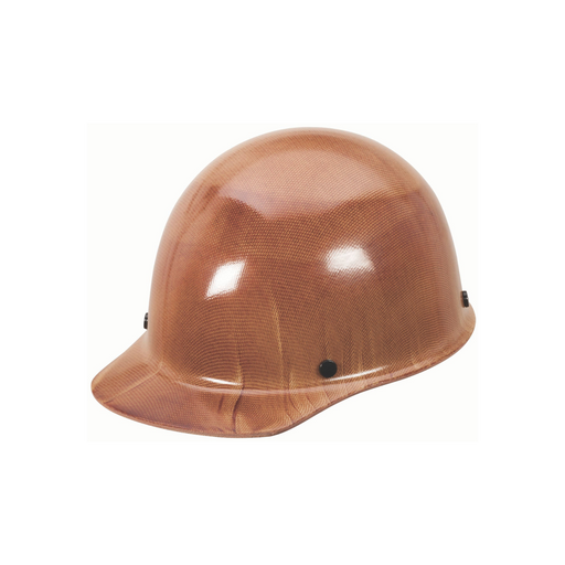 MSA Skullgard Natural Tan Hard Hat w/ Staz-On Suspension, Large - 82018
