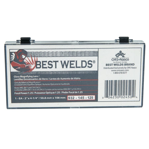 Best Welds 2 x 4-1/4 Glass Magnifier Lenses - 932-145