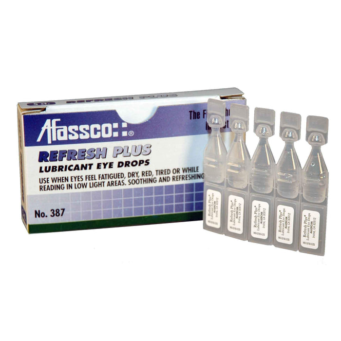 Afassco Refresh Plus, Unit Dose Eye Drops - 5 droppers/box - 387