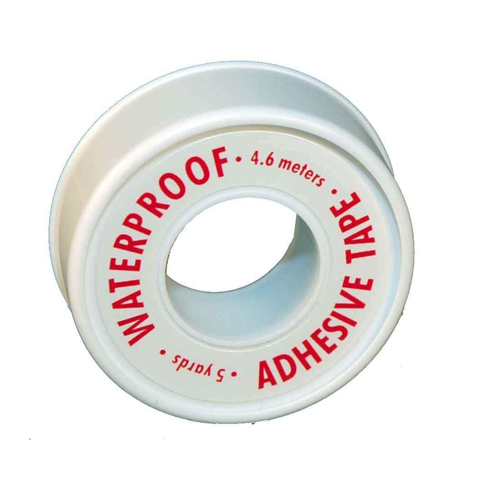 "Afassco Tape, Adhesive, Water-Proof, 1/2"" x 5yd - 411"