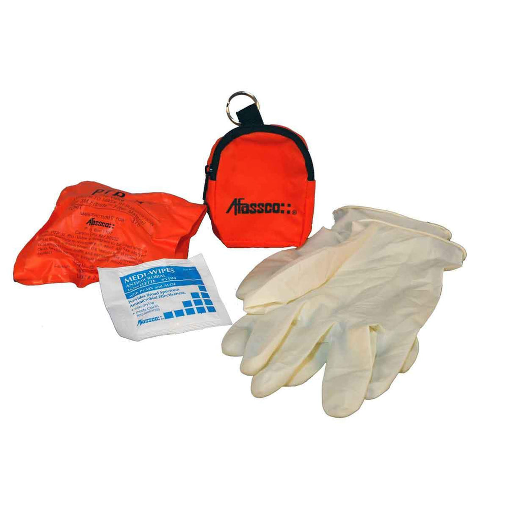 Afassco CPR Protector w/ pouch, 3M Filter - 908