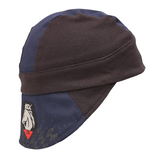 Black Stallion BSX Silicone Grip FR Cotton Welding Cap - AH1631-NB