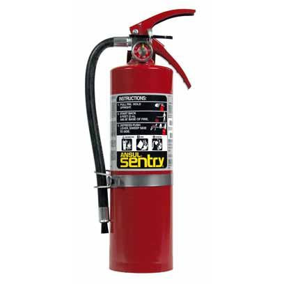 Ansul Foray, A05Vb W Vehicle Bracket, Dry Chem. Extinguisher - 429102