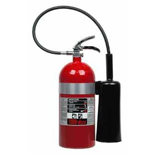Ansul Cd10A-Ul (Aluminum) Carbon Dioxide Extinguisher - 431554