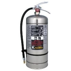 Ansul 6 Litre K-Guard Wet Chem Fire Ext. w/ Wall Hanger - 434909
