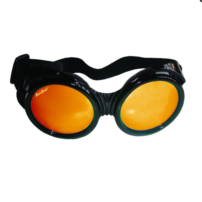 ArcOne The Fly Safety Goggles Smoke/Yellow Orange Mirror - G-FLY-B1202