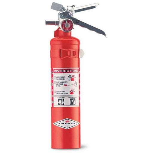 Amerex BC Dry Chem Fire Extinguisher 2 1/2lb w Vehicle Braket - AX403T