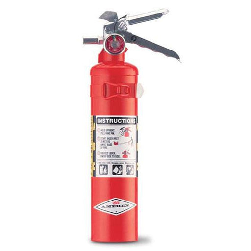 Amerex ABC Dry Chem Fire Exting. 2 1/2lb w Vehicle Bracket - AX417T