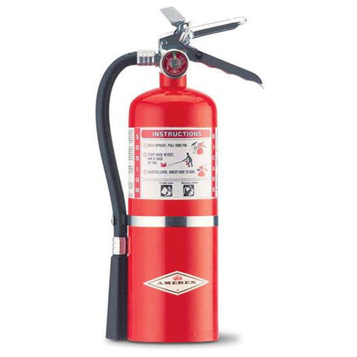 Amerex BC Dry Chem Fire Extinguisher 5 1/2 lb. w/ Wall Hanger - AX453