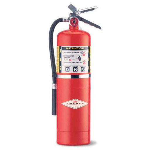 Amerex ABC Dry Chem Fire Extinguisher 10 lb. w/ Wall Hanger - AX456