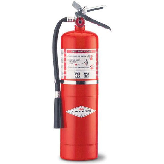 Amerex BC Dry Chem Fire Extinguisher 10 lb. w/ Wall Hanger - AX457