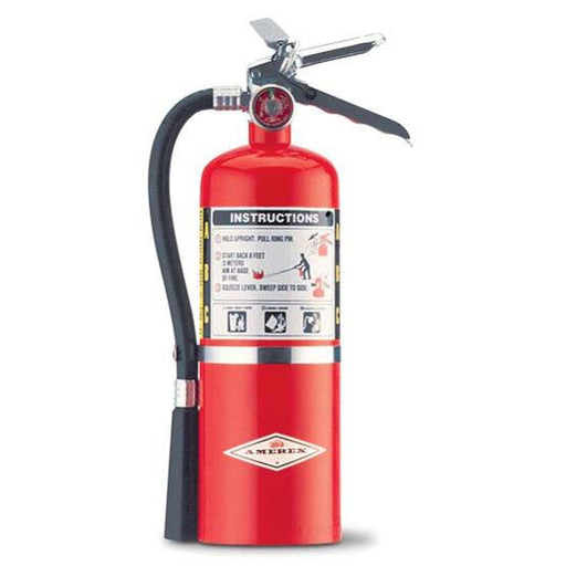 Amerex ABC BROAX500 Dry Chem Fire Exting. 5lb w Wall Hanger - AX500