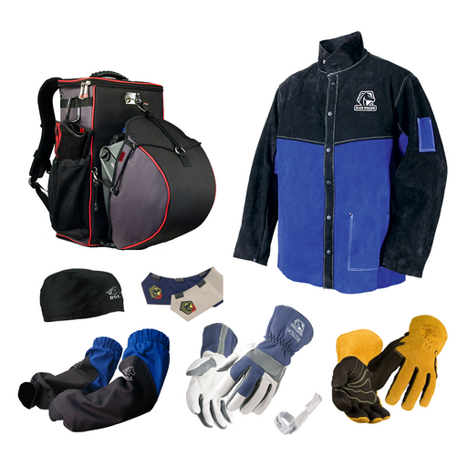 Baker's Premium Protective Gear Bundle - Black Stallion