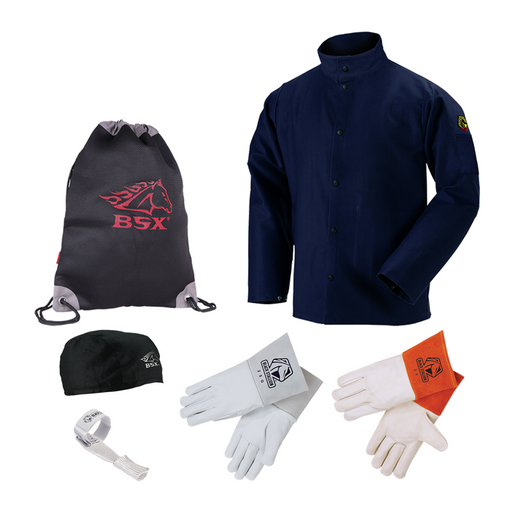 Baker's Starter Protective Gear Bundle - Black Stallion