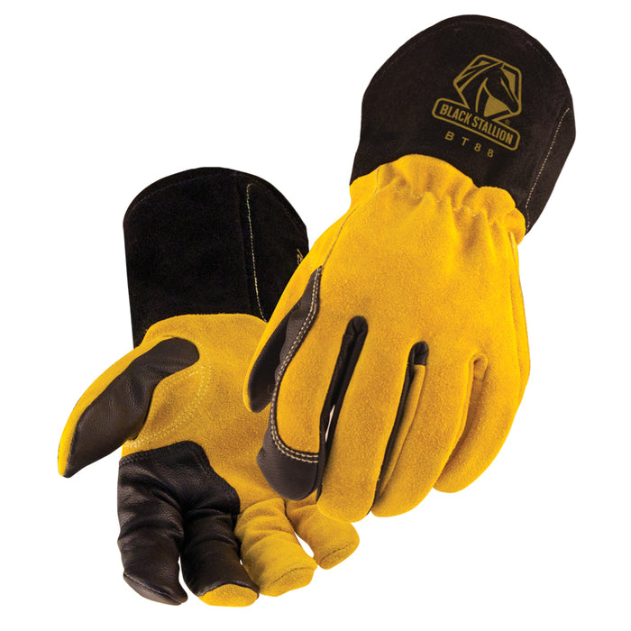 Black Stallion BT88 TIG Glove with premium materials