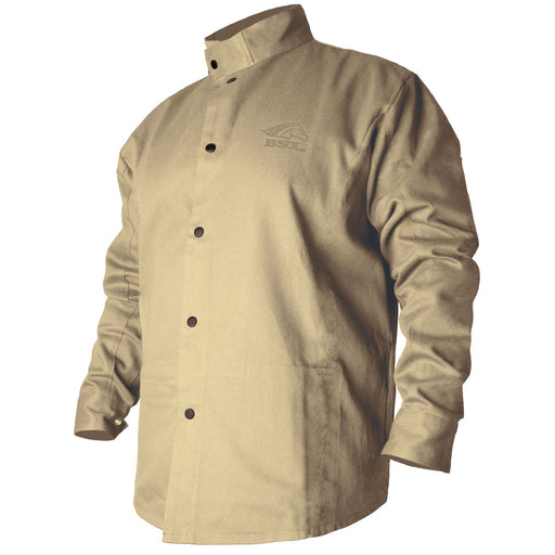 Black Stallion FR Welding Jacket, Khaki - BXTN9C
