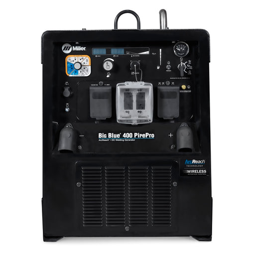 Miller Big Blue 400 PipePro (CAT) Stainless Steel w/ Wireless Interface Control - 907806