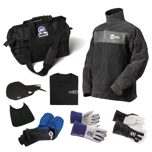 Baker's Premium Protective Gear Bundle - Miller Electric