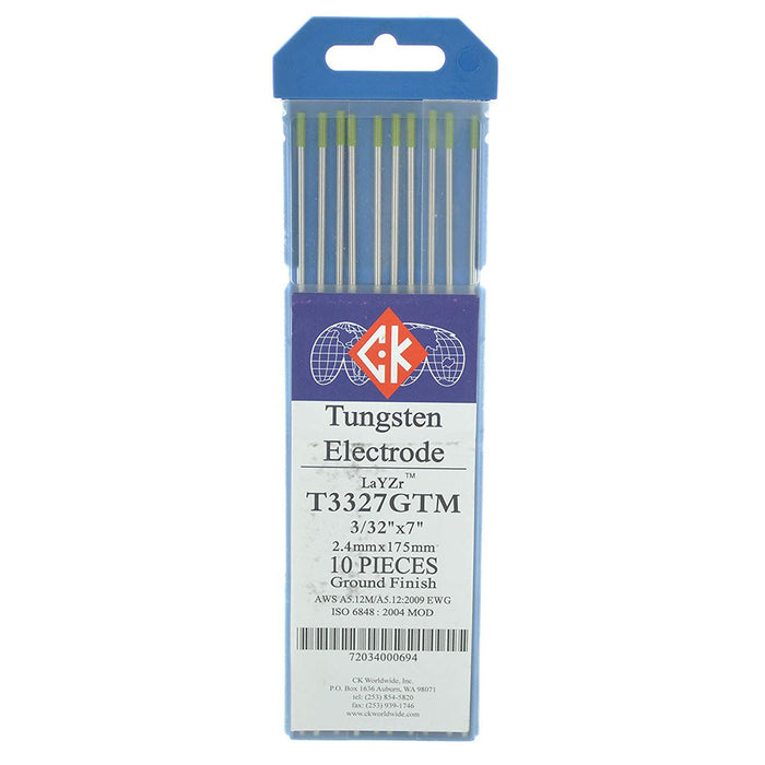 CK Worldwide LaYZr Tungsten, 10/pk - GTM