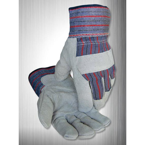Caiman Gloves Econ. Lea. One Piece Palm Starched Cuff - 12/pk - 1210