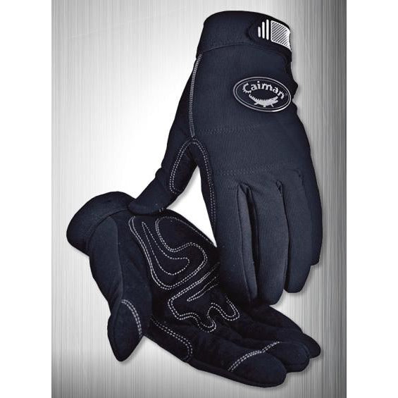 Caiman MAG Multi Activity Gloves RhinoTex Leather Black - 12/pk - 1932