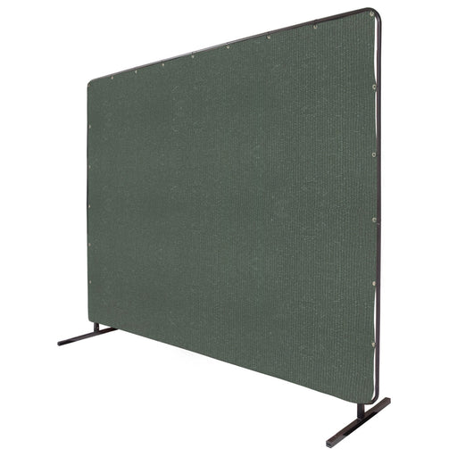 Black Stallion 12 Oz. Olive Canvas 2 Panel QuickFrame Welding Screen & Frame Set