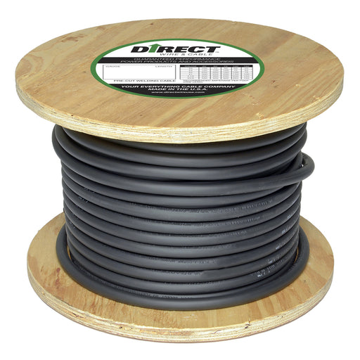 Direct Wire #4 Flex-A-Prene Welding Cable - 250 Feet - #4_250