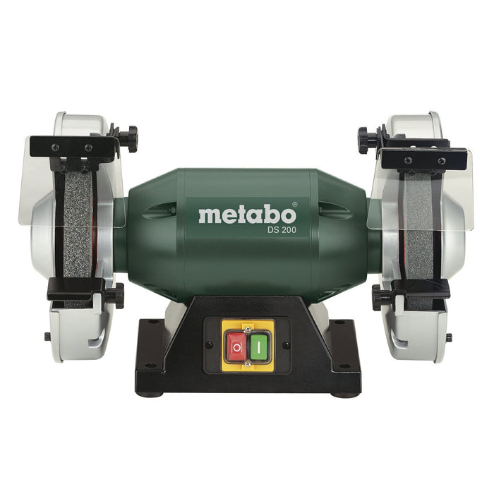 "Metabo DS 200 8"" Bench Grinder front view"
