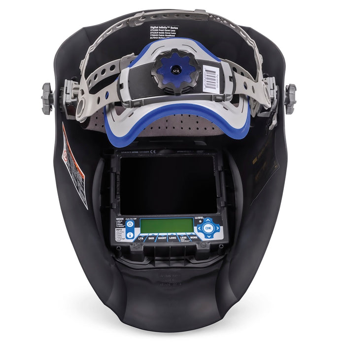 Miller Digital Infinity Black Ops headgear and inside view - 280047