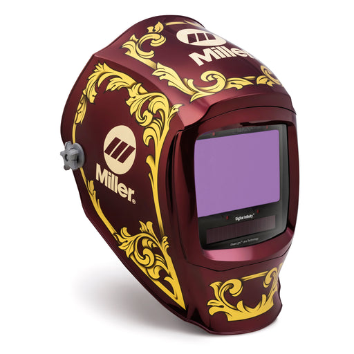 Miller Digital Infinity w Clear Lens Imperial Welding Helmet - 280053 Side of Helmet
