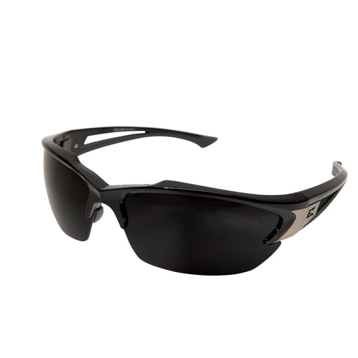 Edge Eyewear - Khor Safety Glasses - Black/Smoke - SDK116