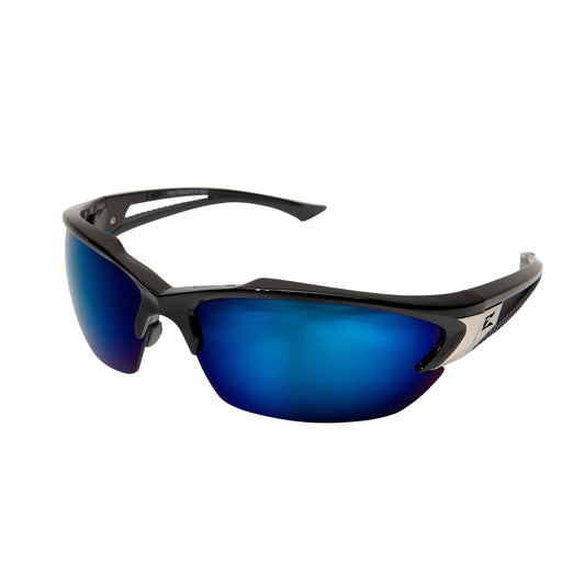 Edge Eyewear - Khor Safety Glasses - Black/Blue - SDK118