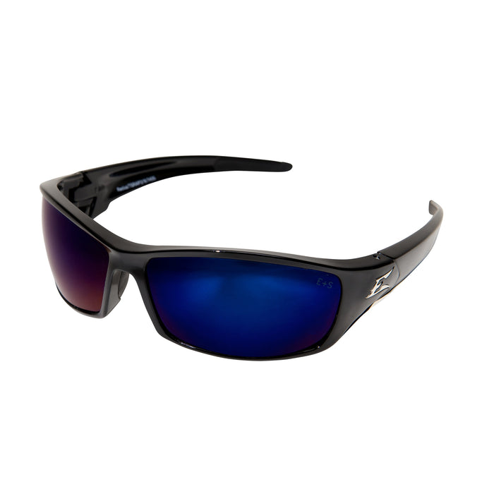 Edge Eyewear - Reclus Safety Glasses - Black/Blue - SR118