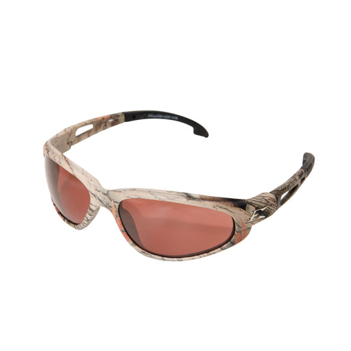 Edge Eyewear Dakura Polarized Safety Glasses (Camo/Copper) - TSM215CF