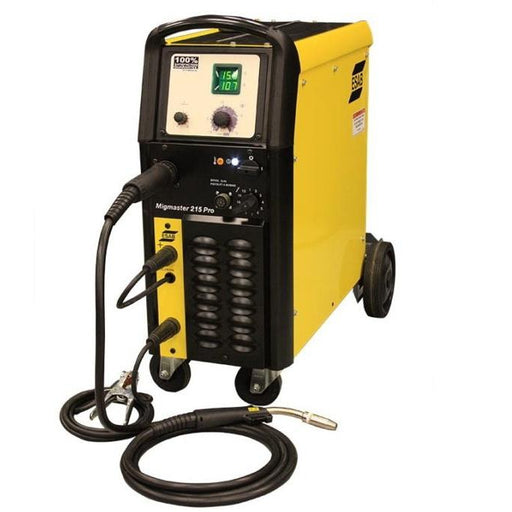 ESAB MigMaster 215 Pro Package 208/230V - 15 ft Torch - 0558101322