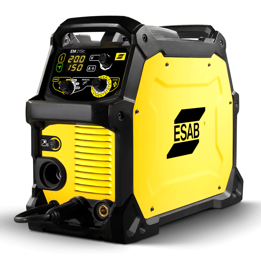 View of the Esab Rebel 215ic