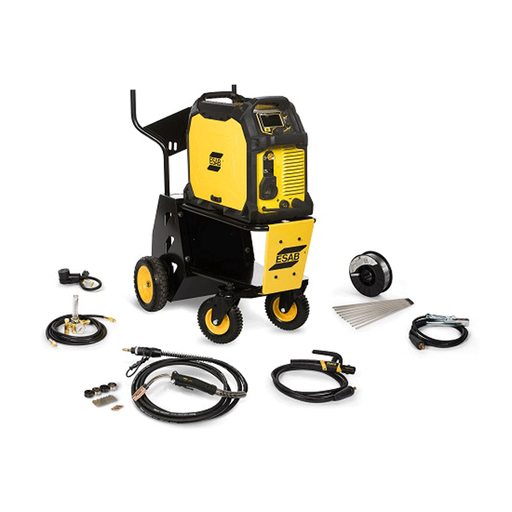 ESAB Rebel 285ic Multiprocess Welder 3Ph w/ Cart - 0558102557