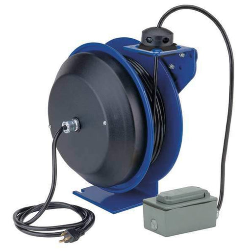 Coxreels EZ- PC Series Power Cord Reel 50ft, w/o Hose - EZ-PC13-5012-F