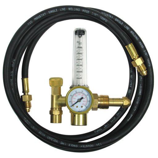 Flame Tech Argon Flow Meter w/Hose Clamshelled - 100-FL-AR-60-580H