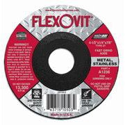 "Flexovit Grinding Wheel - A0390 - 4"" x 1/4"" x 3/8"" - Box of 10 - A0390"