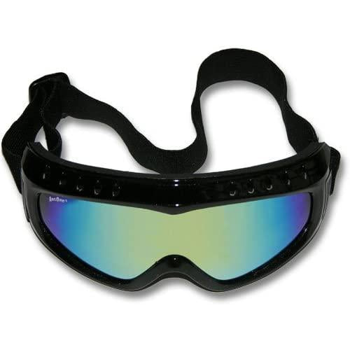 ArcOne IceMan Safety Goggles Smoke/Yellow Purple Mirror - G-ICE-B1205