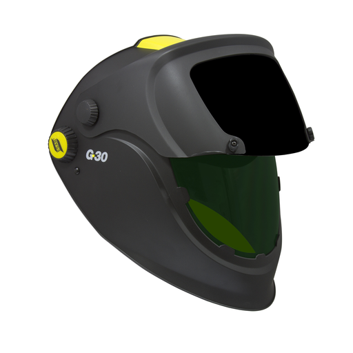 ESAB G30 Helmet Open with Shaded lens