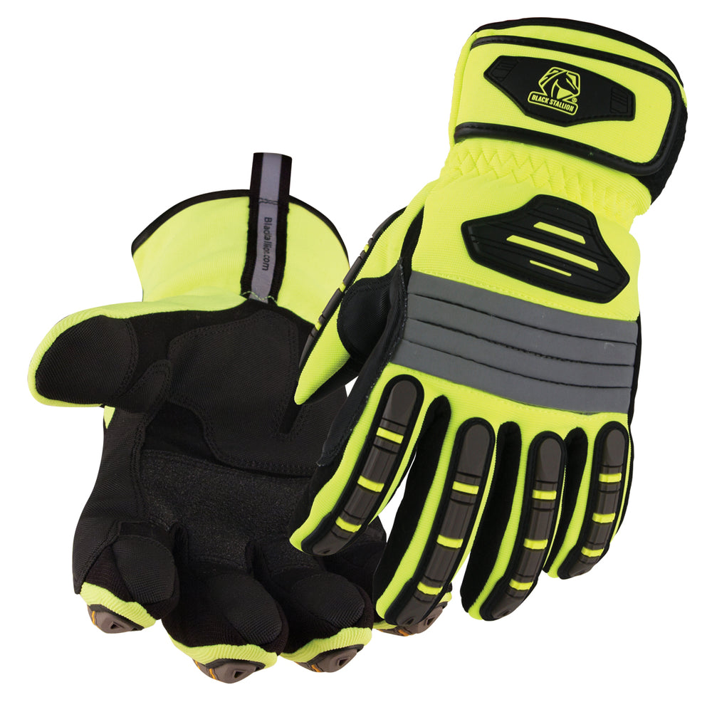 Black Stallion ToolHandz Water Resistant Hi-Vis Winter Mechanics Glove - GW101