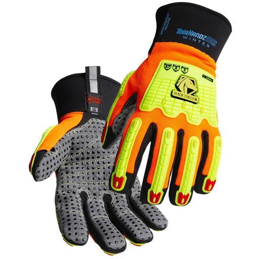 Black Stallion ToolHandz MAX High Cut-Resistant Winter Mechanics Glove - GW2226-OB