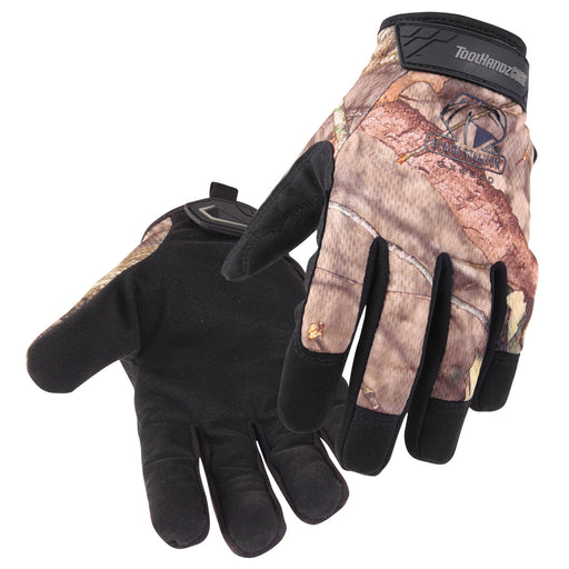 Black Stallion ToolHandz Core Mossy Oak Synthetic Leather Palm Mechanics Gloves- GX4640-MB
