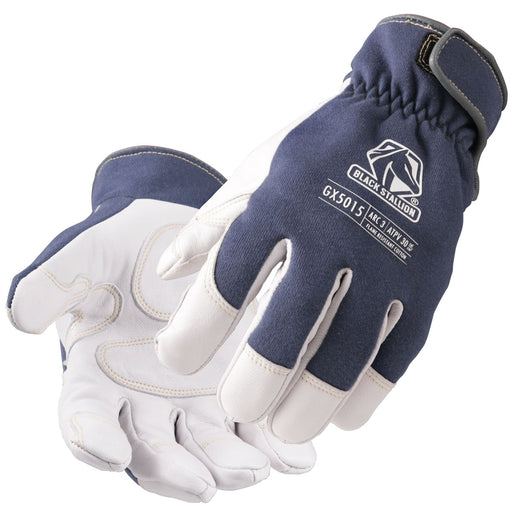 Black Stallion ARC-Rated Goatskin & FR Cotton Mechanics Glove - GX5015