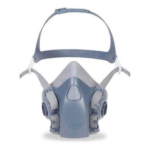 3M Half 7500 Series Facepiece Respirator, Small  - 7501
