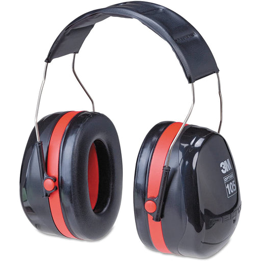 3M Peltor Optime 105 Earmuffs, 30 dB NRR - H10A
